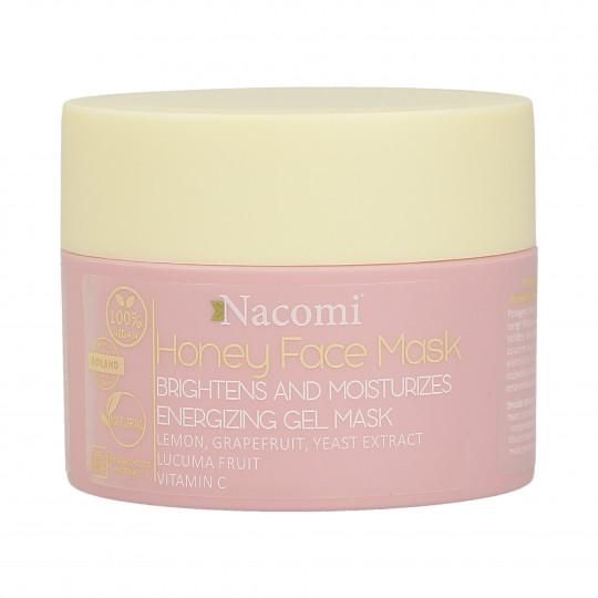 NACOMI Honey Face Masque visage éclaircissant et hydratant au miel 50ml - 1