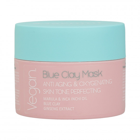 NACOMI Blue Clay Blue Masque visage anti-rides et oxygénant 50 ml - 1