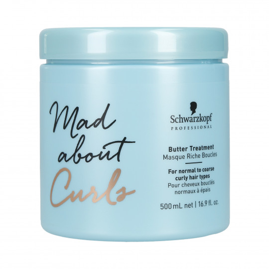 SCHWARZKOPF PROFESSIONAL MAD ABOUT CURLS Masque riche boucles 500ml