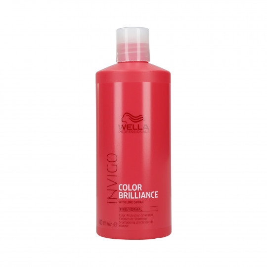 WELLA PROFESSIONALS INVIGO COLOR BRILLIANCE Shampooing pour cheveux fins 500ml - 1
