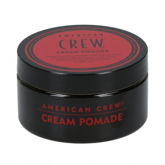 AMERICAN CREW Cream Pomade Crème de coiffage tenue souple effet mat 85g - 1