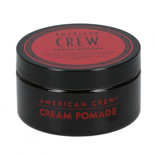 AMERICAN CREW Cream Pomade Crème de coiffage tenue souple effet mat 85g