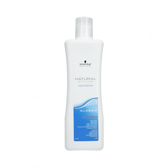 SCHWARZKOPF PROFESSIONAL NATURAL STYLING Classic 1 Lotion permanente 1000ml - 1