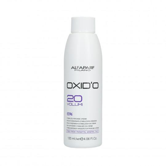 ALFAPARF OXID'O Peroxyde d'hydrogène crémeux 6% (20 Vol.) 120ml - 1
