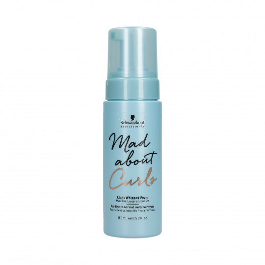 BC MAD ABOUT CURLS LIGHT WHIPPED FOAM 150ML