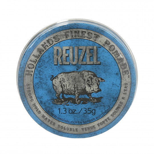 REUZEL Blue Strong Hold Pommade pour cheveux 35g
