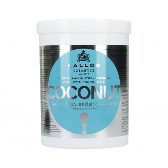 KALLOS KJMN Coconut Masque capillaire nourrissant et fortifiant 1000ml - 1