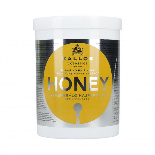 KALLOS KJMN Honey Masque régénérant au miel 1000ml - 1