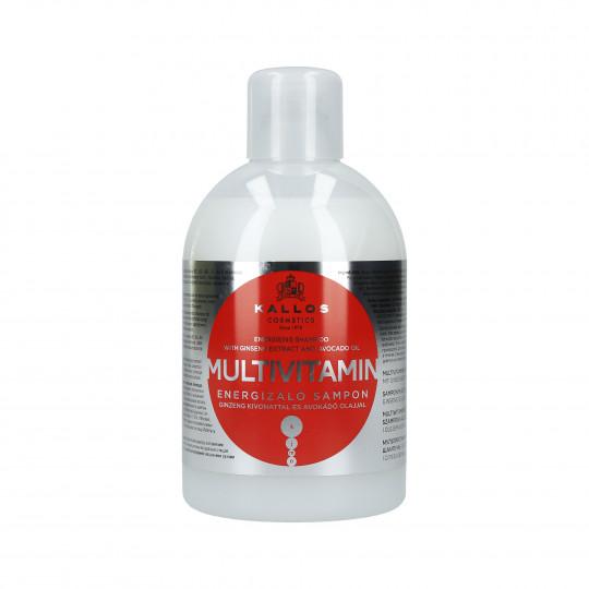 KALLOS KJMN Multivitamin Shampooing énergisant 1000ml - 1