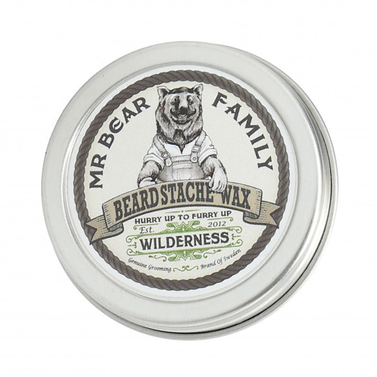 MR. BEAR FAMILY Cire à moustache et barbe Wilderness 30ml - 1
