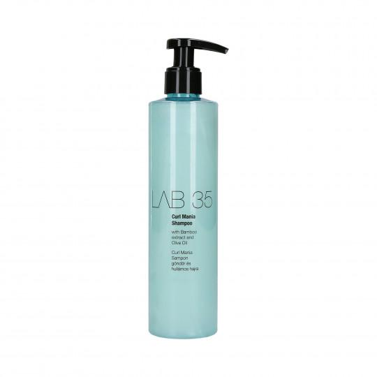 KALLOS LAB 35 CURL MANIA Shampooing cheveux bouclés 300ml - 1