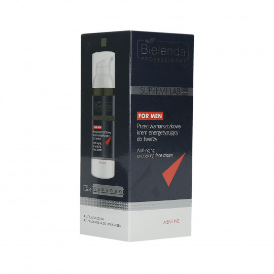 BIELENDA PROFESSIONAL SUPREMELAB Men Line Crème Visage Anti-Rides 50 ml