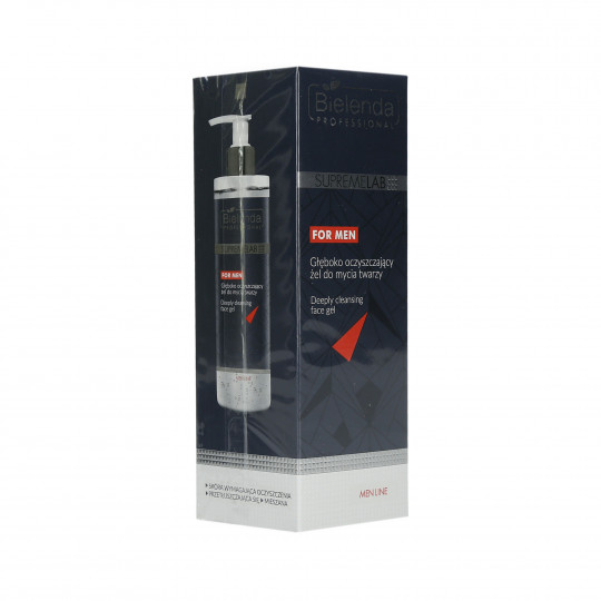 BIELENDA PROFESSIONAL SUPREMELAB Men Line Gel Nettoyant Visage 200 ml