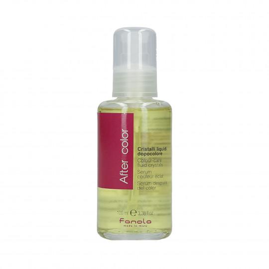 FANOLA AFTER COLOUR Cristaux liquides pour cheveux colorés 100ml - 1
