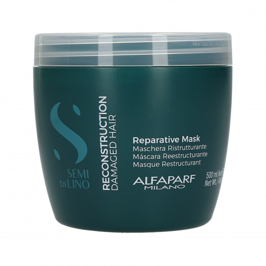 ALFAPARF SEMI DI LINO RECONSTRUCTION Masque restructurant 500ml