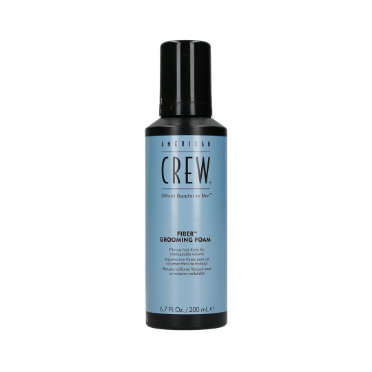 AMERICAN CREW Fiber Grooming Foam Mousse coiffante fibreuse pour un volume modulable 200ml - 1