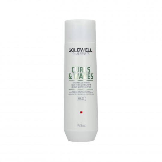 GOLDWELL DUALSENSES CURLS&WAVES Shampooing hydratant 250ml - 1