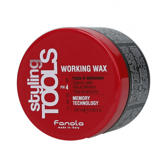 FANOLA STYLING TOOLS Working Wax Pâte coiffante 100ml - 1