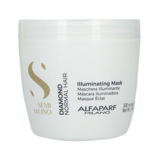 ALFAPARF SEMI DI LINO DIAMOND Masque éclat 500ml