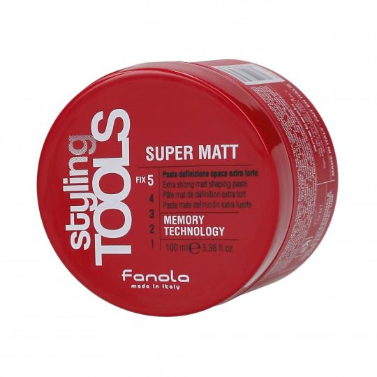 FANOLA STYLING TOOLS Super Matt Pâte capillaire mate très forte 100ml