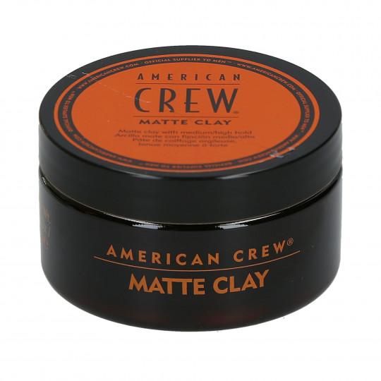 AMERICAN CREW Matte Clay Pâte de coiffage 85g - 1