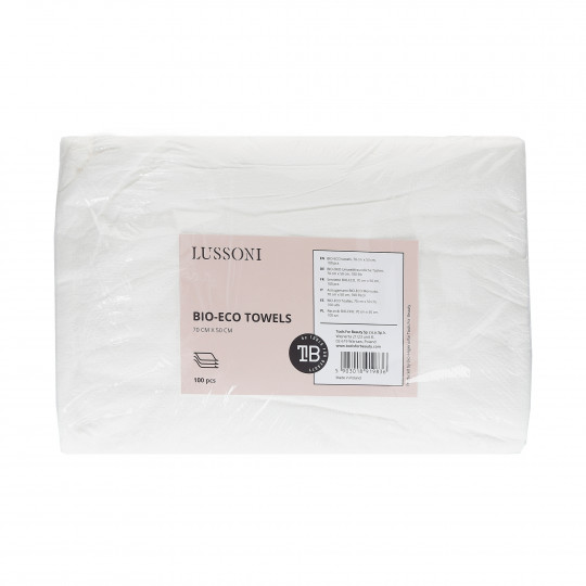 LUSSONI by Tools For Beauty, Serviette BIO-ECO, 70 cm x 50 cm, 100 pcs - 1