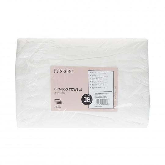 LUSSONI by Tools For Beauty, Serviette BIO-ECO, 70 cm x 50 cm, 100 pcs