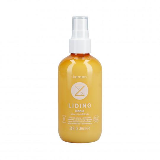 KEMON LIDING BAHIA Spray hydratant pour les cheveux et le corps après soleil 200 ml