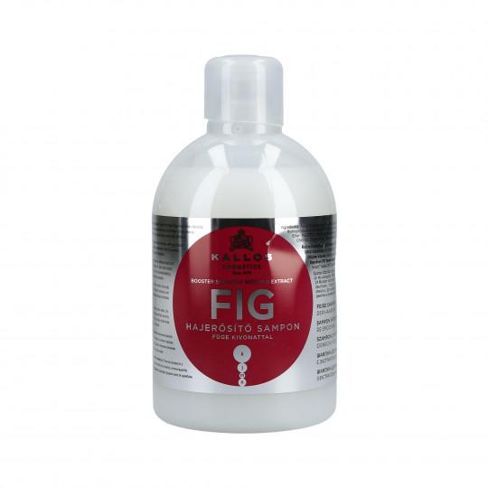KALLOS KJMN Fig Shampooing fortifiant 1000ml - 1