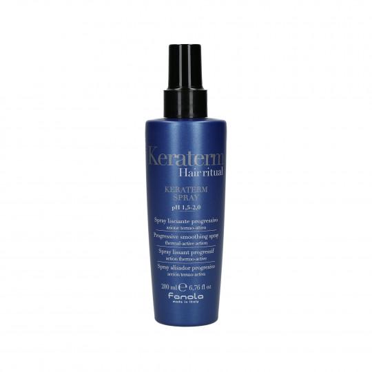 FANOLA KERATERM Spray thermoprotecteur pour cheveux crépus 200 ml - 1