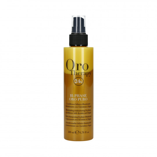 FANOLA ORO THERAPY 24k Oro Puro Conditionneur Biphasique 200 ml - 1