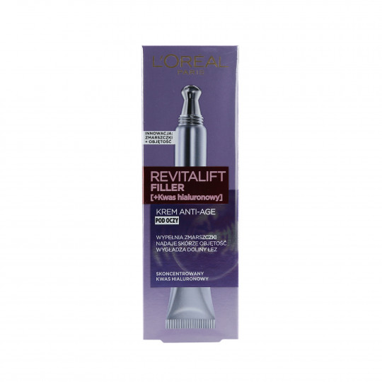 L'OREAL PARIS REVITALIFT Wrinkle Filler Crème contour des yeux 15ml - 1