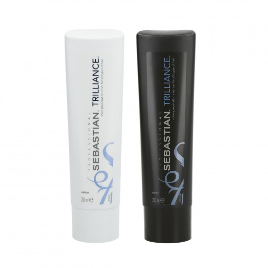 SEBASTIAN TRILLIANCE Set shampooing 250 ml + revitalisant 250 ml - 1