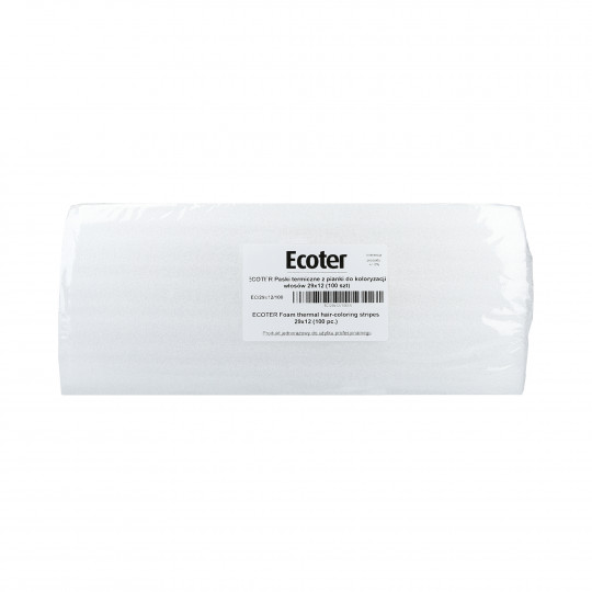 EKO-HIGIENA ECOTER Bandes thermiques pour colorations cheveux 100szt. - 1