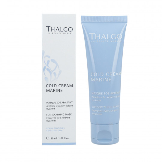 THALGO COLD CREAM MARINE Masque apaisant SOS 50 ml - 1