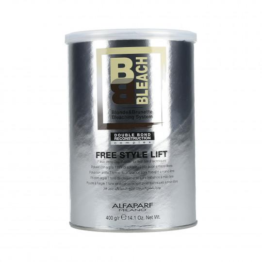 ALFAPARF BB BLEACH Free Style Lift Poudre à l'argile 7 tons d'éclaircissement 400g - 1