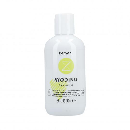 KEMON LIDING KIDDING Shampooing doux pour les cheveux et le corps pour enfants 200ml - 1