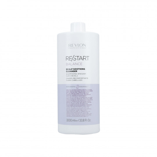 REVLON PROFESSIONAL RE/START Balance Shampooing apaisant cuir chevelu 1000ml - 1