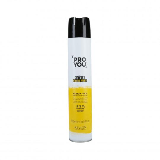 REVLON PROFESSIONAL PROYOU The Setter Medium Spray fixation moyenne 500ml - 1