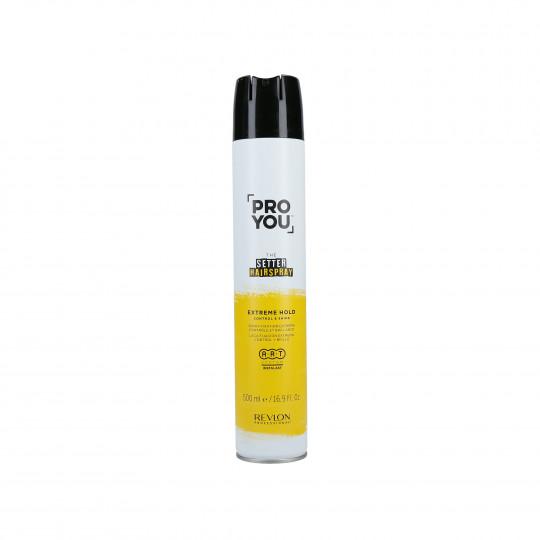 REVLON PROFESSIONAL PROYOU The Setter Extreme Spray fixation extreme 500ml - 1