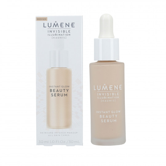 LUMENE INVISIBLE ILLUMINATION Sérum tonifiant visage Medium 30ml - 1