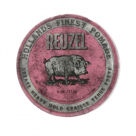 REUZEL Pink Pommade tenue forte 113g - 1