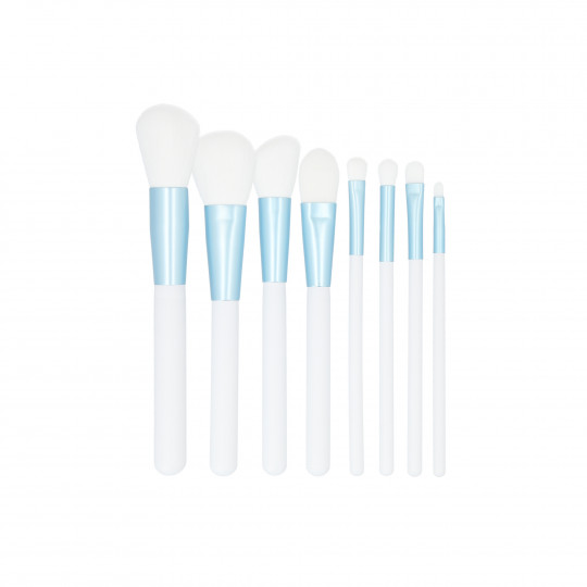 MIMO by Tools For Beauty, Set de 9 pinceaux à maquillage, Blanc - 1