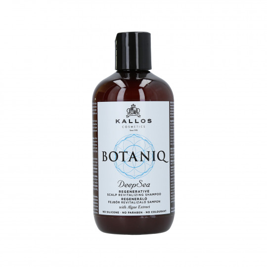 KALLOS BOTANIQ Deep Sea Shampooing revitalisant 300ml - 1