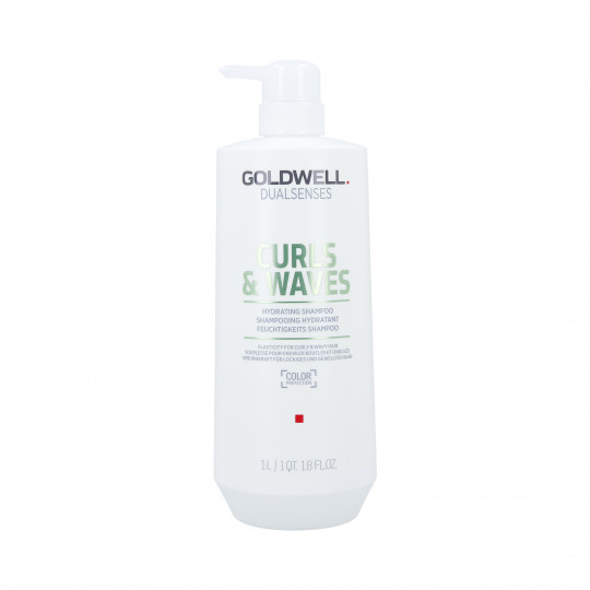 GOLDWELL DUALSENSES CURLS&WAVES Shampooing hydratant 1000ml - 1