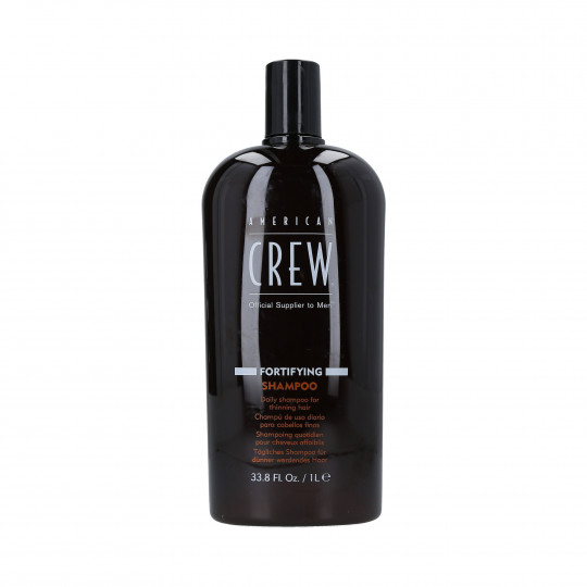 AMERICAN CREW Shampooing fortifiant pour cheveux fins 1000ml - 1