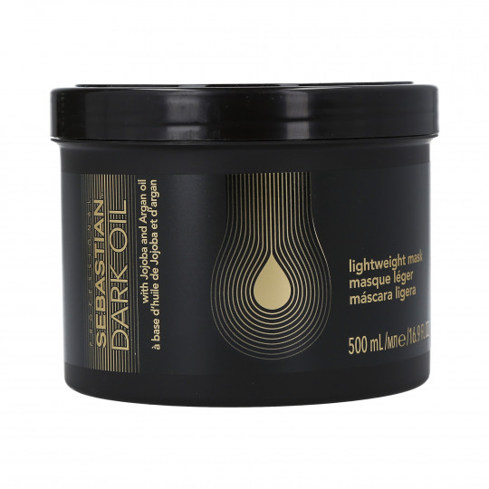 SEBASTIAN PROFESSIONAL Dark Oil Masque capillaire régénérant 500 ml