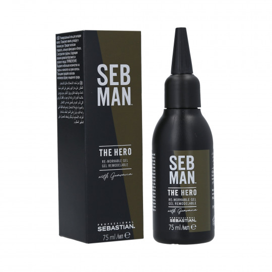 SEBASTIAN SEB MAN The Hero Gel coiffant fort 75ml - 1