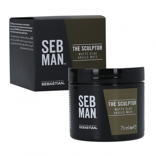 SEBASTIAN SEB MAN The Sculptor Argile mate coiffante 75ml - 1
