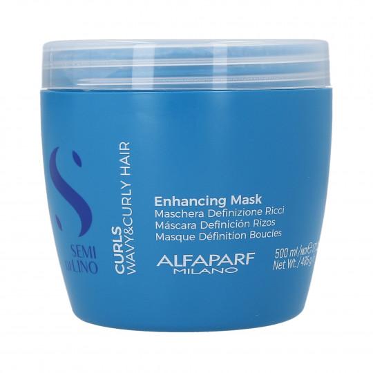 ALFAPARF SEMI DI LINO CURLS Masque pour cheveux bouclés 500ml - 1